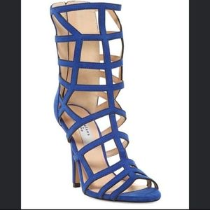 🌺☆Chelsea and Zoe☆ Blue Gladiator Heels